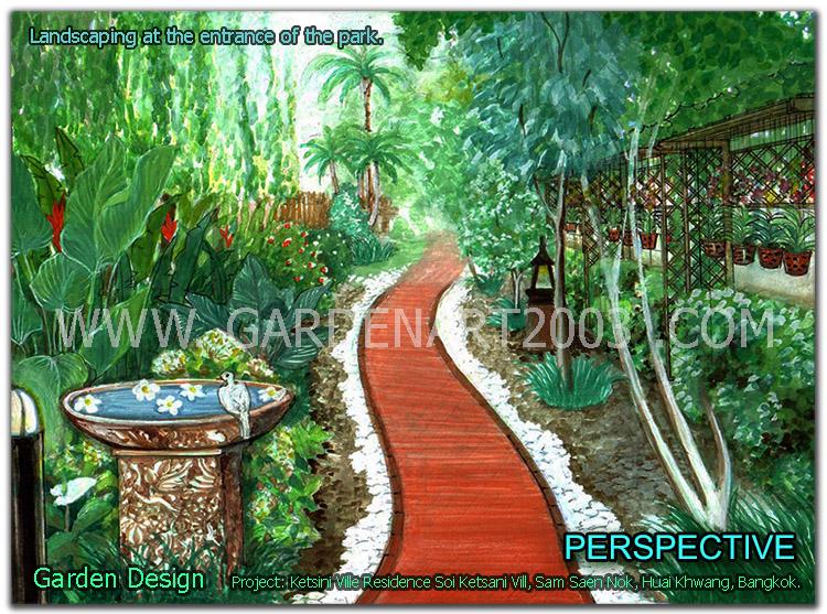รูปภาพผลงาน2 ลิขสิทธิ์ของ gardenart2003